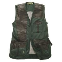 Bob Allen 280M Shooting Vest - Mesh Back & Leather