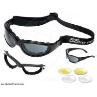 Body Specs RX Prescription BSG Black, Demi Tortoise Goggles / Sunglasses