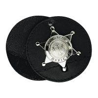 "Boston Leather 3.75"" Round Holder Swivel w/ Chain"