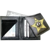Boston Leather 575 Wallet Cutout
