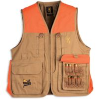 Browning Pheasants Forever Vest with logo embroidery