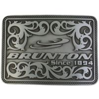Brunton Rectangle All Around 1894 Belt Buckle