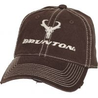 Brunton Joel Cap, Brown Easy w/ Contrast Stitching