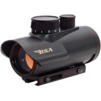 BSA Optics 30mm Matte Black Finish Red Dot Sight