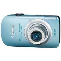Canon PowerShot SD960 IS 12.1 Megapixel Digital Camera Kit Blue 3578B001