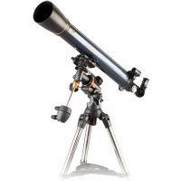 Celestron AstroMaster 90EQ MD Refractor Telescope with Motor Drive 21069 90 EQ Telescopes