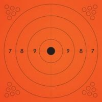 Champion Traps and Targets Adhesive Practice Target Bullseye
