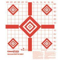 Champion Target Redfield Style Sight-In Targets