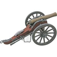 China Made Confederate Army Cannon Replica