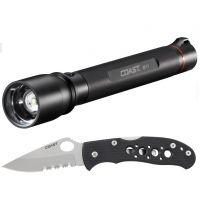 Coast HP17 LED Flashlight, Black