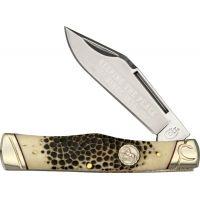 Colt Buckshot Bone Gunstock Folding Knife