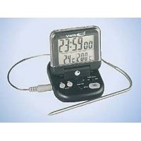 Control Company Alarm Thermometer/Timer 4147 Vwr Thermometer Alarm + Timer