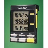 Control Company Large-Digit Triple-Display Timer 5025 Vwr Timer Triple Display