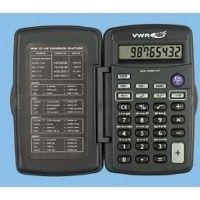 Control Company Pocket Metric Calculator 1001 Vwr Pocket Metric Calculator