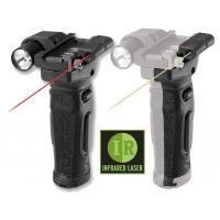 Crimson Trace MVF-515 Vertical Grip Red Laser Sight / Flashlight w/ IR Module