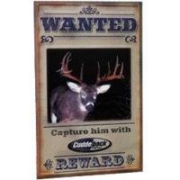 Cuddeback Metal Wanted Sign