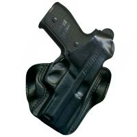 DeSantis Right Hand Black D.H.S. I.C.E. Holster 013BA90Z0 - SIG P220, P226 WITH EQUIPMENT RAIL