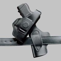 DeSantis Left Hand Black Dual Carry Holster 032BBL7Z0 - S&W M&P COMPACT 9MM/40CAL