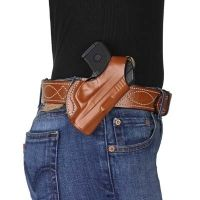 DeSantis Left Hand Tan Quick Snap Holster 027TBR7Z0 - RUGER LCP 380CAL