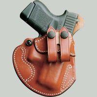 DeSantis Right Hand Tan Cozy Partner Holster 028TA80Z0 - SIG P220, P226, P225, P228, P239