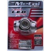 Dorcy 1 Watt- 3AAA Metal Gear LED Headlight w/ Batteries 41-2091