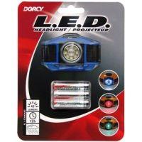 Dorcy 3 AAA LED Multifunctional Headlight w/ Batteries