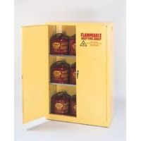 Eagle Manufacturing Flammable Liquids Safety Storage Cabinets, Eagle Manufacturing 1947 Floor Cabinet, 2 Doors, 2 Shelves
