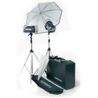 Elinchrom Style 1200RX/1200RX Kit With Umbr., Refle., Stands And Case EL-20745