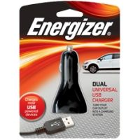 Energizer Dual Universal USB Car Charger