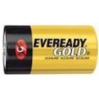 Energizer Gold Eveready D Batteries 1.5 Volts