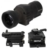 EOTech 4X Magnifier Fixed Mount and EOTech Flip to Side Mount