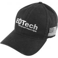 EOTech Baseball Hat - Black w/ Gray Logo