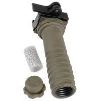 Ergo Grip Xpress Lever Broomhandle Forward Vertical Grips - OD Green 4255-OD