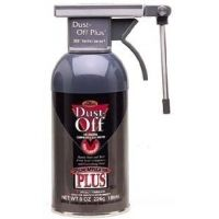 Falcon Safety Dust-Off Pressurized Dusters, Falcon Safety Products DPNR Reusable Dusters Dust-Off Plus Refill, 227 g (8 oz.) Can