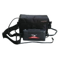 FoxPro 12 Volt Gel-Cell Battery Pack With Wall Charger and Carrying Case 12VSLA