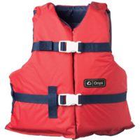 Full Throttle Universal General Purpose Life Vest, for Adult, Nylon, Foam, Navy