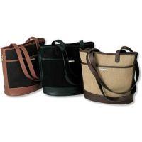 Galco Eclipse Holster Handbag Ambidextrous - Camel / Black Trim ECPCM
