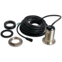 Garmin 200KHz, 12deg, bronze, thru-hull mount, depth, temp Navigation Device Accessories GA-XA-010-10217-00