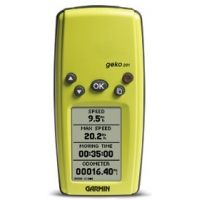 Garmin Basic Handhelds GPS Geko 201 with English and French manual/packaging 010-00318-41