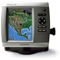 Garmin GPSMAP 530 w/Int GPS ant., worldwide satellite imagery, built-in inland lakes detail for US, g2 Vision compatible GPS Fishfinders 010-00612-00