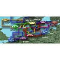 Garmin On The Water GPS Cartography BlueChart g2 Vision: Nordic Countries Regular South Map