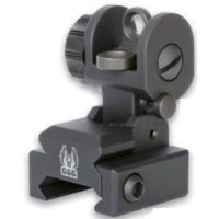 GG&G A2 Spring-Actuated Flip-Up Back Up Iron Sight
