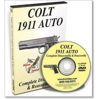 Gun Video DVD - Complete 1911 Auto Pistol Disassembly/Reassembly P0019D