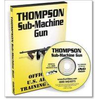 Gun Video DVD - Thompson Sub-Machine Gun S0045D