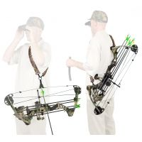 THE BEST BOW SLING EVER! H/&M Archery/'s String Sling® Bow Hunting Sling BLACK