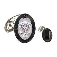 Heros Pride Universal Oval Badge Holder with Hook Fast Closure