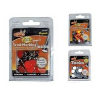 HME Products Reflective Wing Tack White 25 Pack 25 Pack