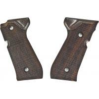 Hogue Beretta 92 Handgun Grip Rosewood Checkered 92911