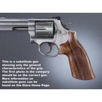 Hogue Ruger SP101 Handgun Grip Kingwood Checkered 81601