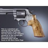 Hogue Ruger Security Six Handgun Grip Goncalo No Finger Groove Stripe Cap 87230